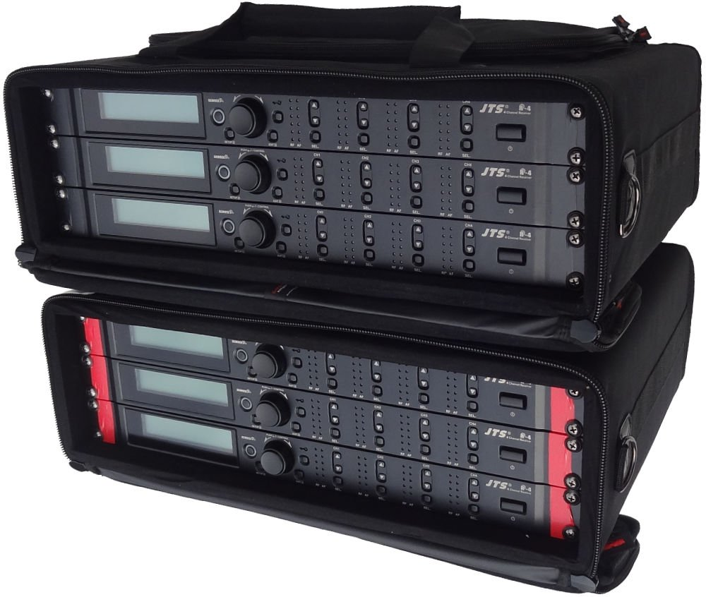 Sound Hire 24 way rack of JTS R-4 radio mic package